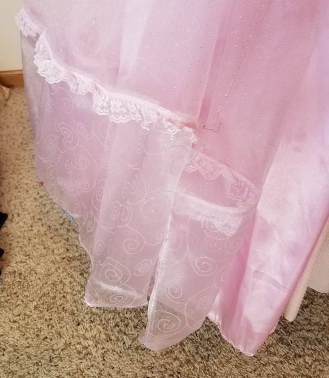 view of lower skirt