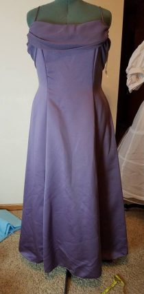 front of base dress no hoop