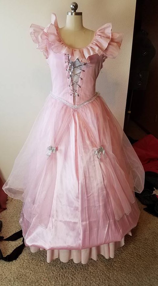 old donated costume over dress
