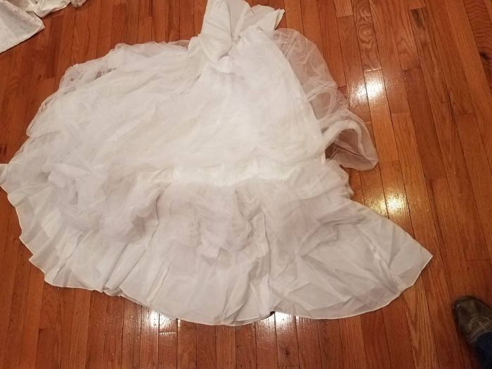 petticoat cut out