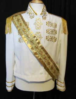 front of Prince jacket