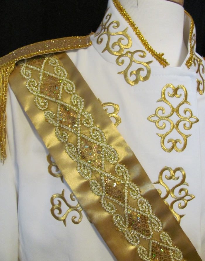 detail of Prince jacket