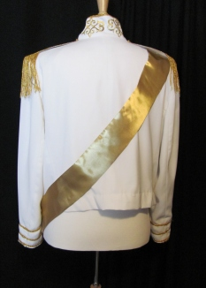 back view of Prince jacket