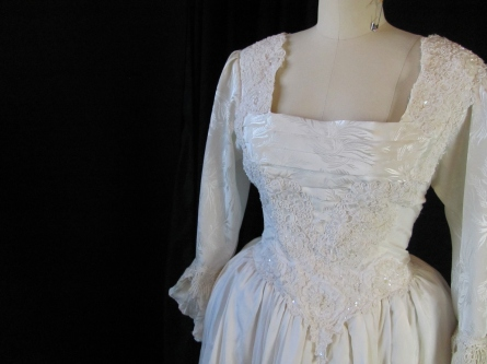 bodice of dress