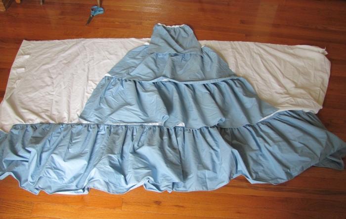 tiers for underskirt
