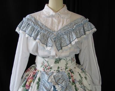 hoop dress top detail