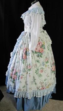 hoop dress side--larger dress form