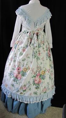 Hoop dress back--larger dress form