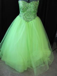 front of original dress
