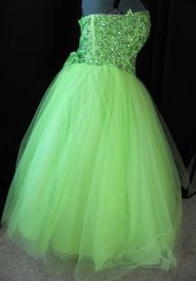 side of original dress