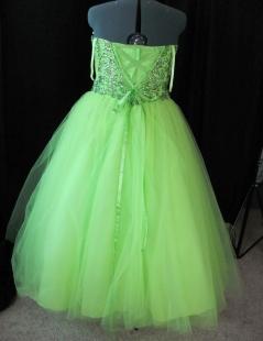 back of original dress