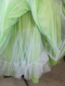 underskirt with 2 layers of petticoat net