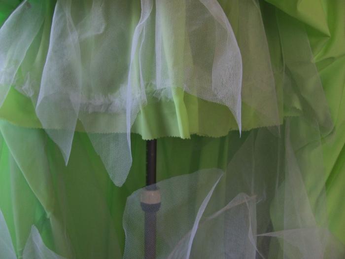 underskirt & petticoat net trimmed