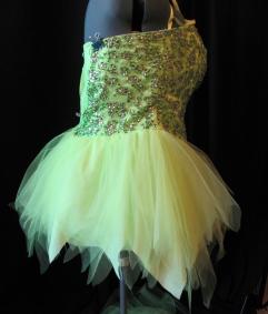skirt trimmed--side