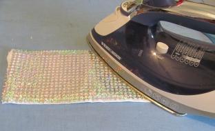 iron on heat transfer vinyl scraps