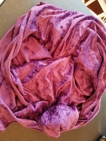 on the go linens: panne velvet