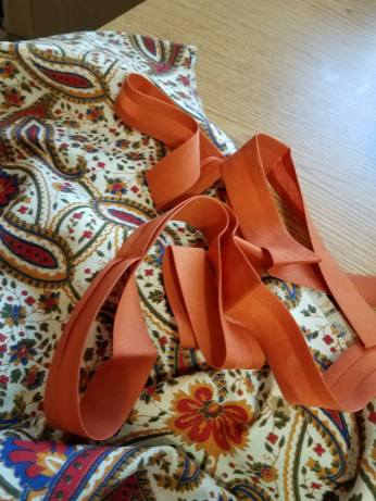 wide bias tape for the waistband