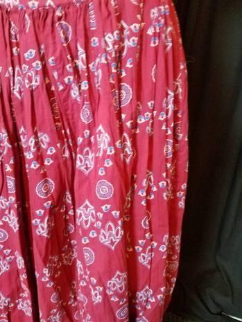 pattern of skirt