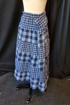 2x skirt with trashed elastic
