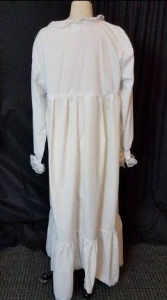 scrub jacket nightgown, back