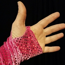 basic fingerless glove