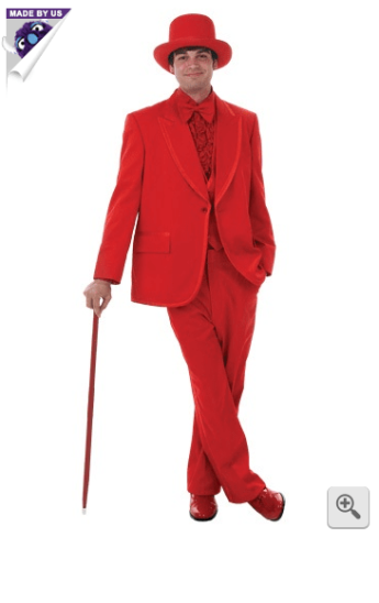 red tux