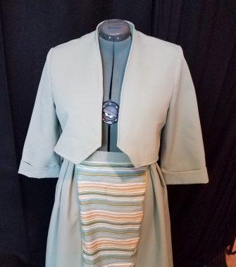 jacket shaped, skirt before changing waistband