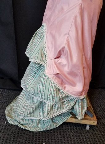 petticoat net added to back ruffles