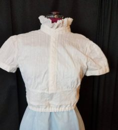 remodeled blouse front