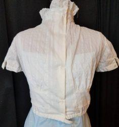 remodeled blouse back