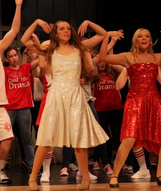 the dress DOES sparkle, HSM