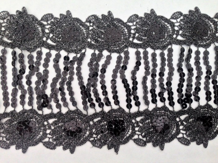 1-yard-sequin-fringe-black-and-silver-embroidered-6-1-2-inch-wide-3