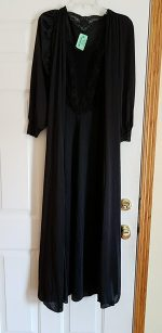 nylon nightgown and robe set