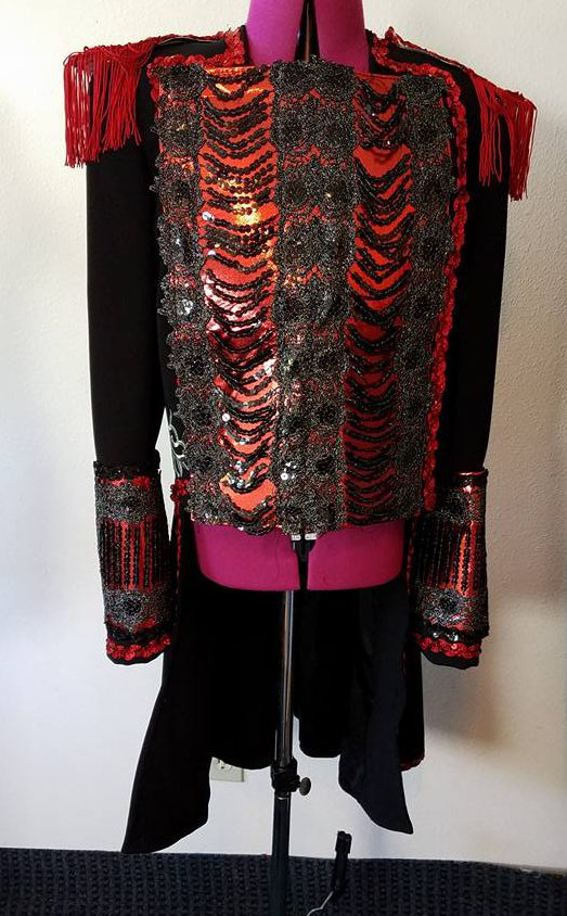 front of Baron jacket