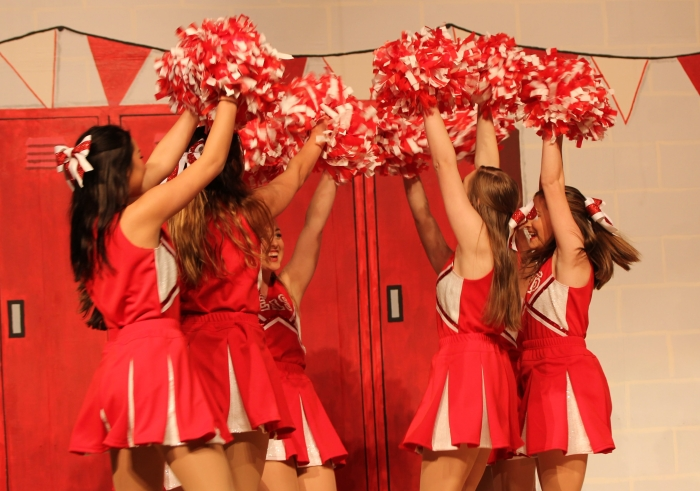 poms and bows