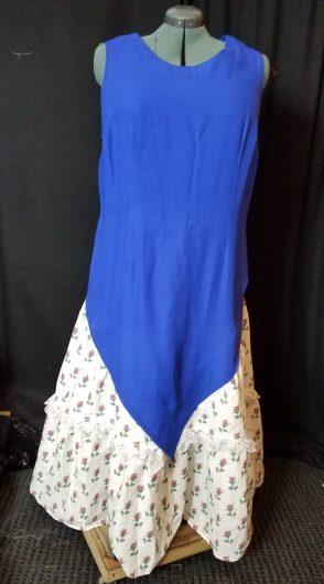 front, 2 tier skirt