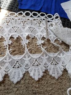 scraps of dutch lace for decoration