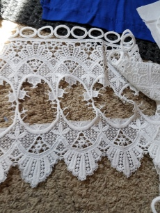scraps of dutch lace for decoration