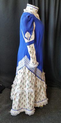 side of finished dress