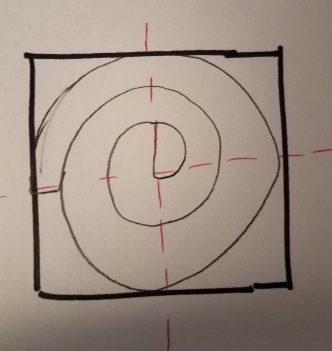 basic idea of how to cut a circle ruffle
