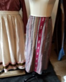 bad picture of two skirts