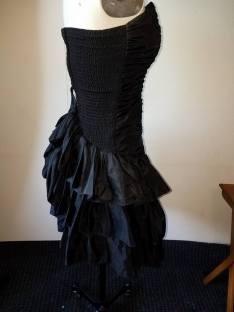 side view, base dress #3