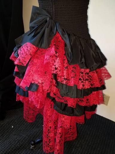 back skirt detail, Bombie Samba #3