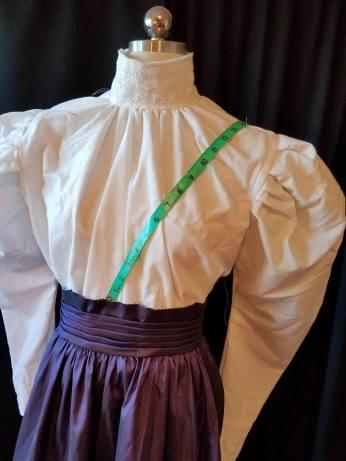 measuring for shoulder strap
