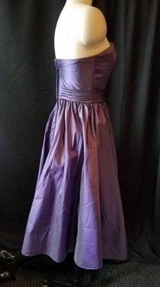 side view base dress