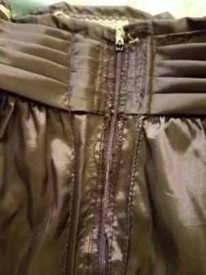 really messy back zipper