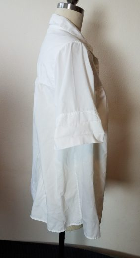 side of blouse