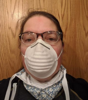 fits over dust mask--costumecrazed mask